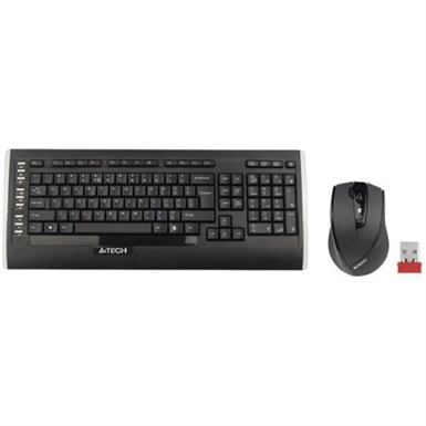 A4TECH WIRELESS DESKTOP PADLESS KLAVYE + MOUSE SET