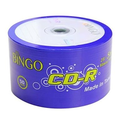 BINGO CD-R 700 MB 50 PK