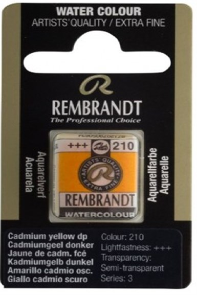 REMBRANDT SULUBOYA TABLET CADM. YELLOW DP.